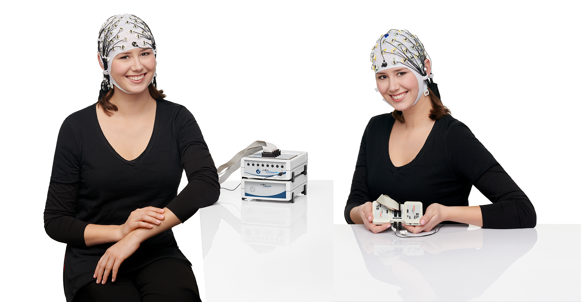 Stationary and mobile EEG solutions